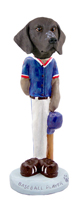 German Short Haired Pointer Baseball Doogie Collectable Figurine