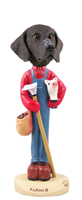 German Short Haired Pointer Farmer Doogie Collectable Figurine