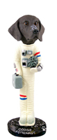 German Short Haired Pointer Astronaut Doogie Collectable Figurine