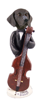 German Short Haired Pointer Bassist Doogie Collectable Figurine