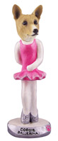 Basenji Ballerina Doogie Collectable Figurine