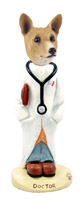Basenji Doctor Doogie Collectable Figurine