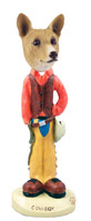 Basenji Cowboy Doogie Collectable Figurine