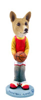 Basenji Basketball Doogie Collectable Figurine