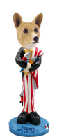 Basenji 4th of July Doogie Collectable Figurine