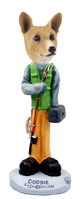 Basenji Fisherman Doogie Collectable Figurine