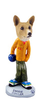 Basenji Bowler Doogie Collectable Figurine