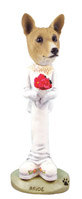 Basenji Bride Doogie Collectable Figurine