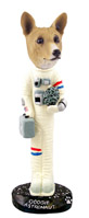 Basenji Astronaut Doogie Collectable Figurine