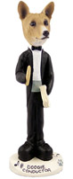 Basenji Conductor Doogie Collectable Figurine