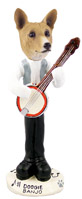 Basenji Banjo Doogie Collectable Figurine
