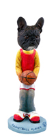 French Bulldog Basketball Doogie Collectable Figurine