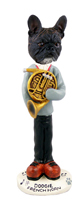 French Bulldog French Horn Doogie Collectable Figurine