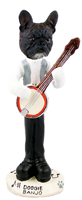 French Bulldog Banjo Doogie Collectable Figurine