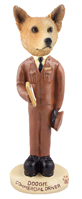 Australian Cattle Dog, RED Commercial Driver Doogie Collectable Figurine