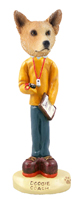 Australian Cattle Dog, RED Coach Doogie Collectable Figurine