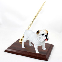 Bulldog White Pen Set