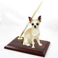 Chihuahua Tan & White Pen Set