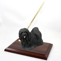 Lhasa Apso Black Pen Set