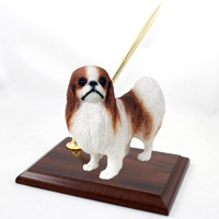 Japanese Chin Red & White Pen Set