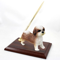 Shih Tzu Tan w/Sport Cut Pen Set
