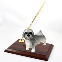 Lhasa Apso Gray w/Sport Cut Pen Set