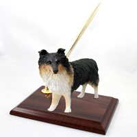 Sheltie Tricolor Pen Set