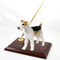 Wire Fox Terrier Red Pen Set