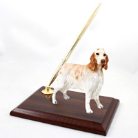 English Setter Belton Orange Pen Set