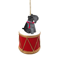 Kerry Blue Terrier Drum Ornament
