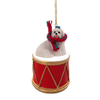 Maltese Drum Ornament