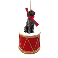 German Short Haired Pointer Drum Ornament