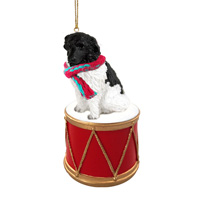 Landseer Drum Ornament