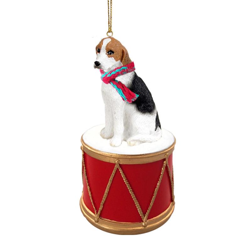 American fox hound drum ornament m4hsunfo