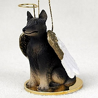 Belgian Tervuren Pet Angel Ornament
