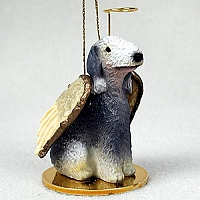 Bedlington Terrier Pet Angel Ornament