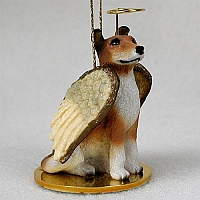 Collie Smoth Hair Pet Angel Ornament