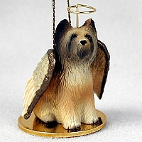 Briard Pet Angel Ornament
