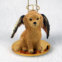 Goldendoodle Pet Angel Ornament