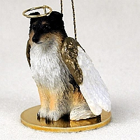 Sheltie Tricolor Pet Angel Ornament