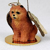 Chow Red Pet Angel Ornament