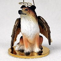 Collie Sable Pet Angel Ornament