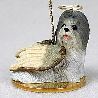 Shih Tzu Mixed Pet Angel Ornament