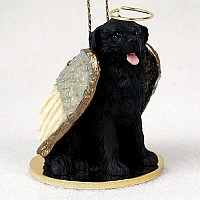Newfoundland Pet Angel Ornament