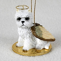 West Highland Terrier Pet Angel Ornament