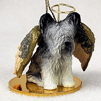Skye Terrier Pet Angel Ornament