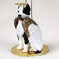Pit Bull Terrier Brindle Pet Angel Ornament