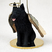 Schipperke Pet Angel Ornament