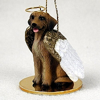 Rhodesian Ridgeback Pet Angel Ornament