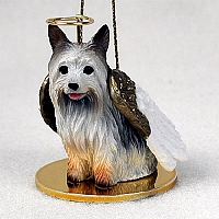 Silky Terrier Pet Angel Ornament